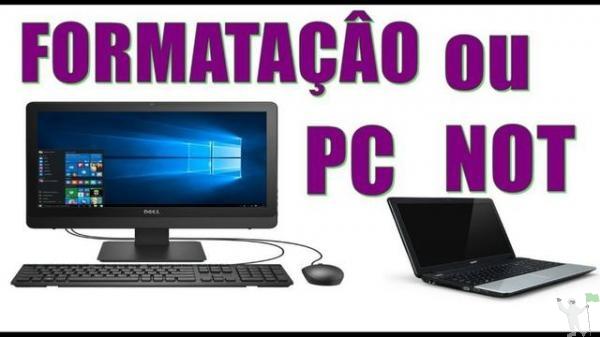 Formatação e Manutenção em PC, Notebook e Netbook