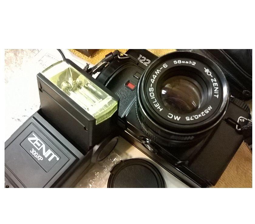 Maquina Fotográfica Zenit - Impecável Completa c Manual
