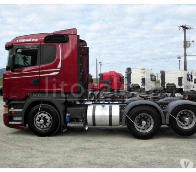 Scania R 440 6X2 Streamline Teto Baixo Ano e Modelo 15