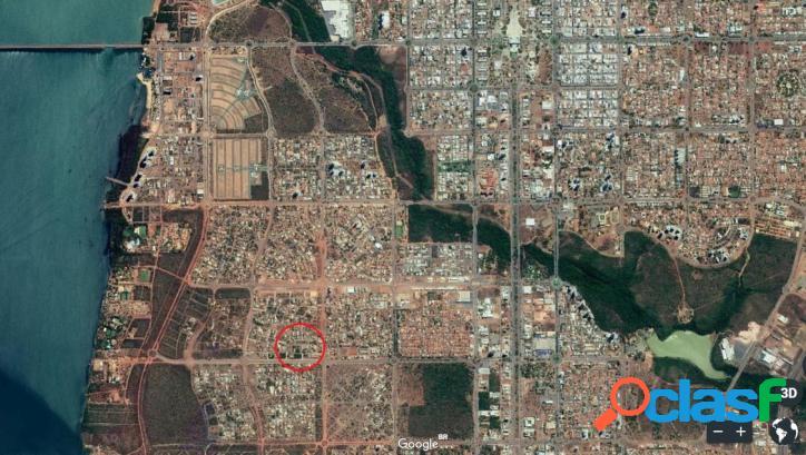 Terreno a venda em Palmas, QD 407 Sul, 448m², 125 mil