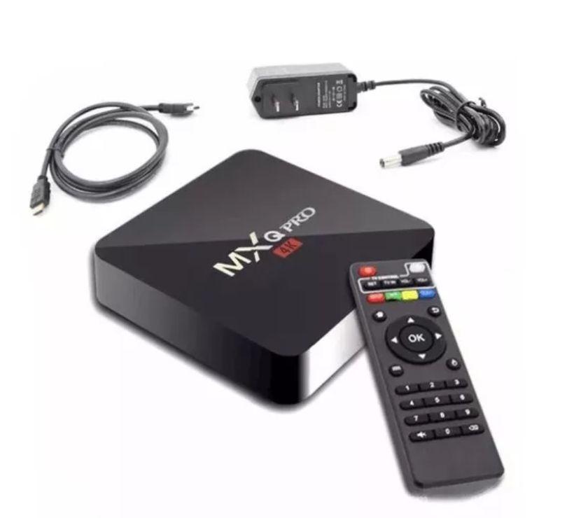 Tv Box 4K PRO com todos os canais disponíveis em HD