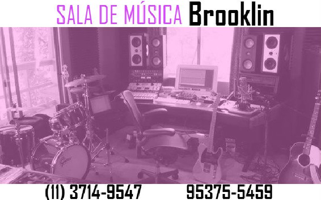 Aulas de guitarra e violão no brooklin