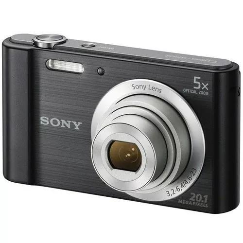 Câmera Digital Sony Cyber-shot Dsc-w800 20.1 Mp, 2,7''