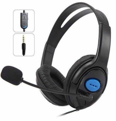 Headset Gamer Com Microfone E Fone Xbox One Ps4 Pc Mobile