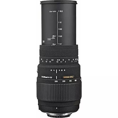 Sigma 70-300mm F/4-5.6 Dg Macro Autofoc Nikon Pronta-entrega