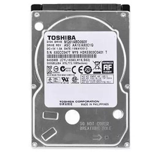 Hd 500gb Notebook Toshiba 2.5 9mm Sata, Novo 5400rpm