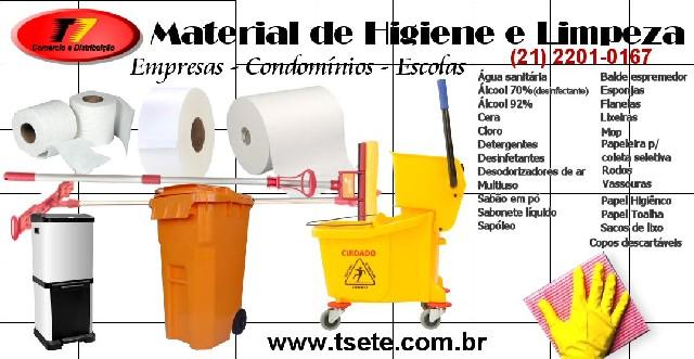 Material de limpeza t7 Comercio e Distribuição