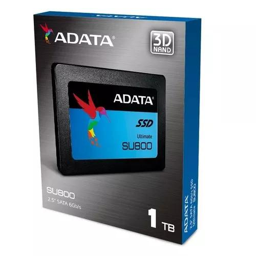 Ssd Adata Usa Ultimate Su800 1tb 3d Nand 2.5 Inch Sata Iii