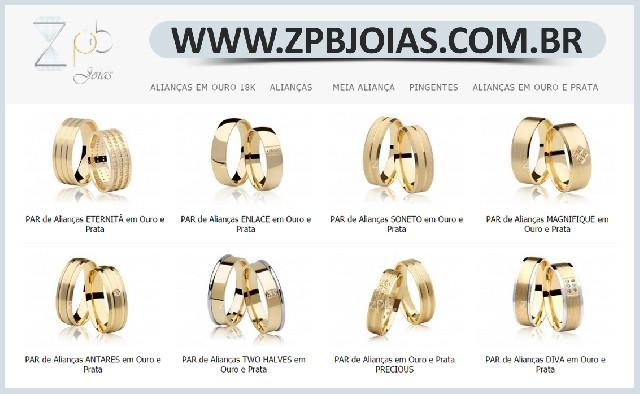 Alianças de ouro online - loja de alianças de ouro