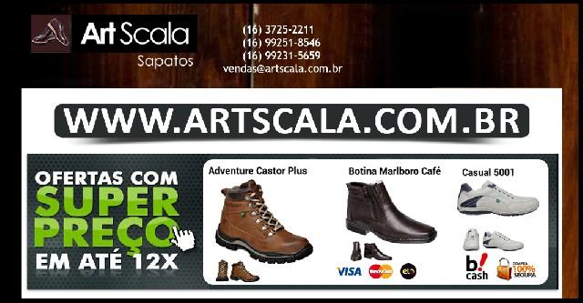 Art scala sapatos - sapatos online