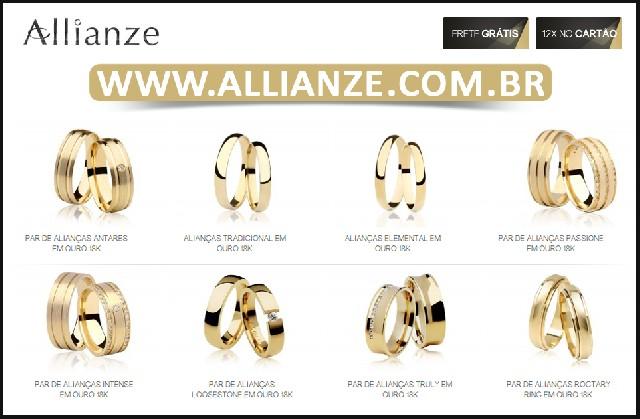 Comprar aliança de ouro - alianças de casamento