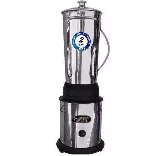 Liquidificador Industrial 2 Litros Baixa Rotação Inox1
