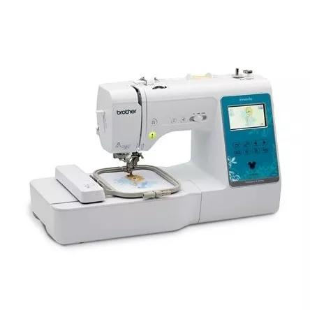 Máquina De Costura E Bordado Brother Nv960ldv Lançamento