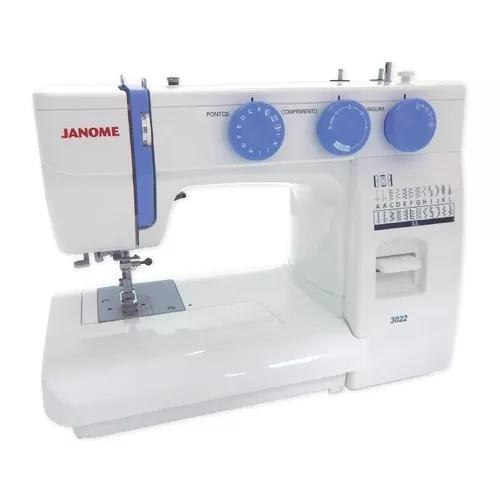 Máquina De Costura Janome 3022 - Lançamento 22 Pontos