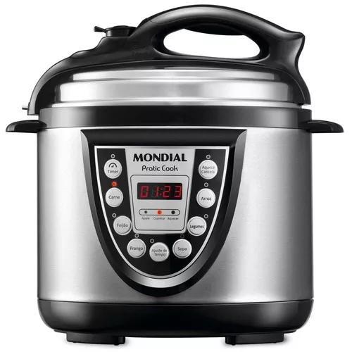 Panela Elétrica De Pressão Mondial Pratic Cook 4l Pe-09