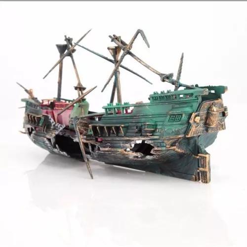 Enfeite Barco De Aquário