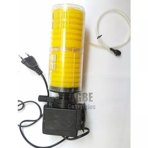 Filtro Para Aquario Interno Bomba Circulação Submersa
