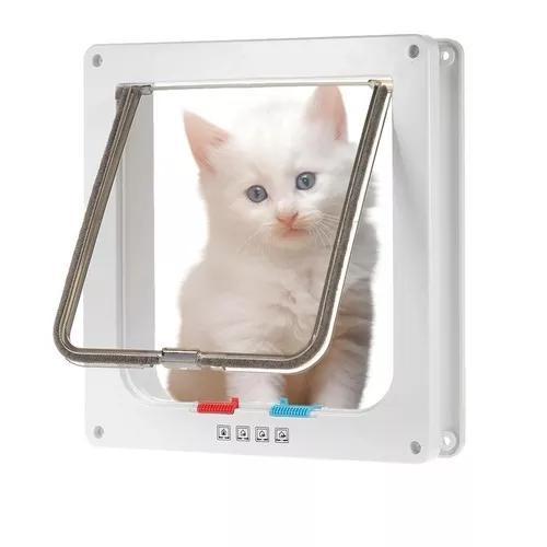 Porta Para Gatos E Peq.cachorro Cor Branco Tamanho Grande