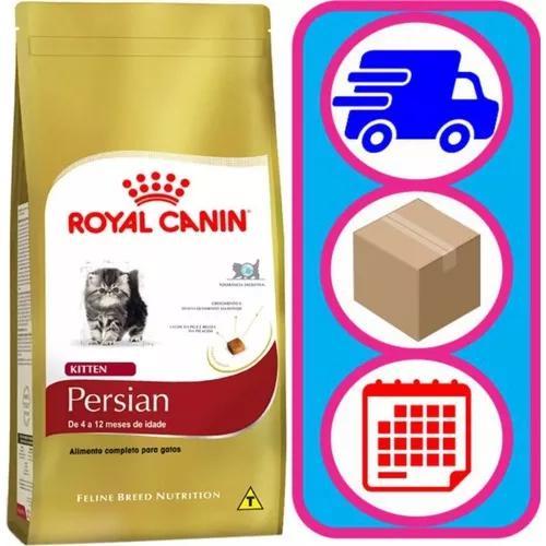 Ração Royal Canin Kitten Persian Para Gatos Raça Persa