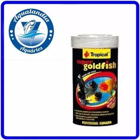Ração Super Goldfish Mini Sticks 150g Tropical P/ Kinguio