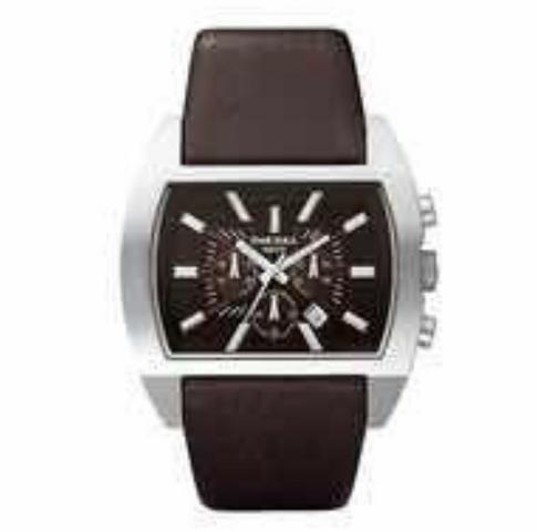 Relógio Diesel DZ , original, pulseira de couro