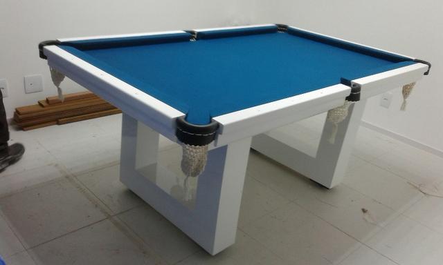 Mesa de Jantar, Sinuca, Bilhar, Snooker Acabamento