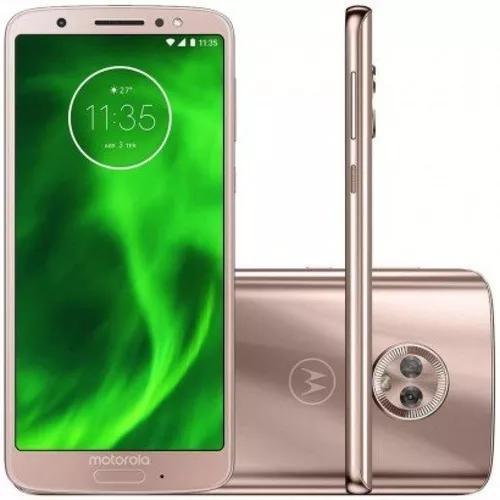 Smartphone Motorola Moto G6 Ouro Rosê Dualchip 64gb Tela 5