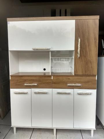 Armário Novo Kit Cozinha Kit Luxo  À vista ou 6