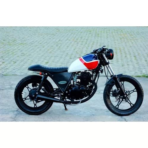 Cafe Racer Suzuki Intruder 125 Deka Custom Machine