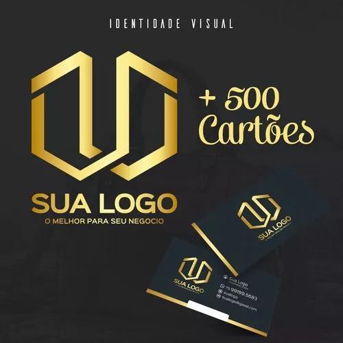 Criação De Logotipo (logomarca) E Cartões De Visitas