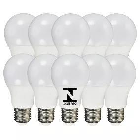 Kit De 10 Lampada De Led De 7 Watts 1 Ano De Garantia