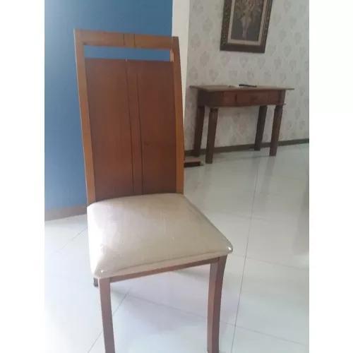 Vendo 6 Cadeiras De Mesa De Jantar