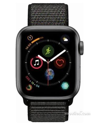 Apple Watch série 4, preto, 44mm, com gps, na caixa lacrada