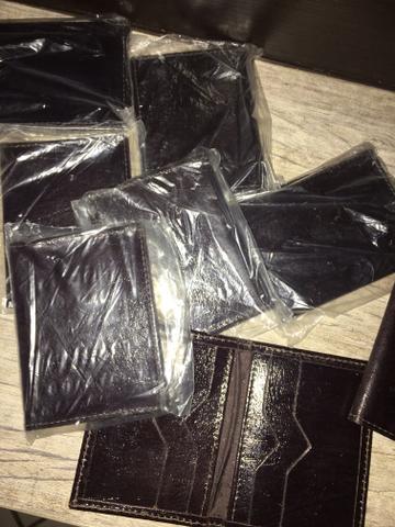 Porta cartão em couro legítimo