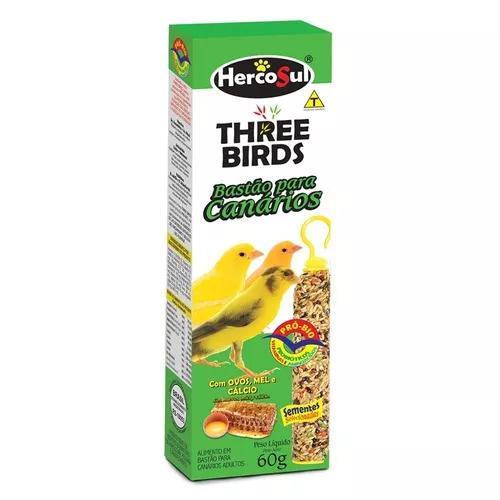 6 Caixas Bastão Para Canario Mel E Ovos C/ 2 Bastões Cada