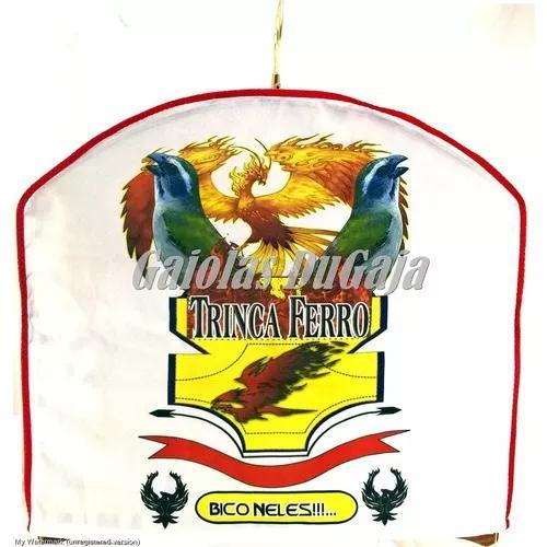 Capa Para Gaiola Trinca Ferro Pixarro Torneio - Estampada