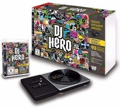 Kit Original Dj Hero Completo Do Ps3 Jogo Com A Pickup De Dj