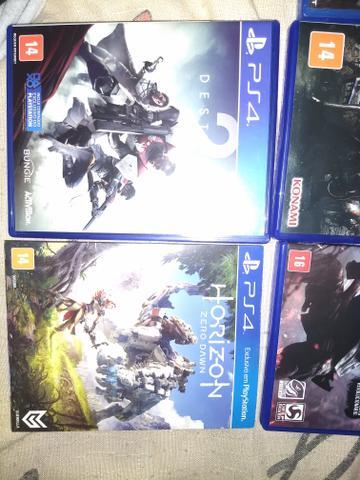 Vendo ou Troco Jogos PS4 barato