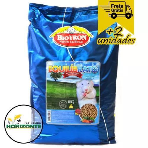 Biotron Ração Equilibrato 5kg - Alimento P/ Ratos E