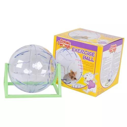Bola De Exercício Chalesco Para Hamster Transparente - P