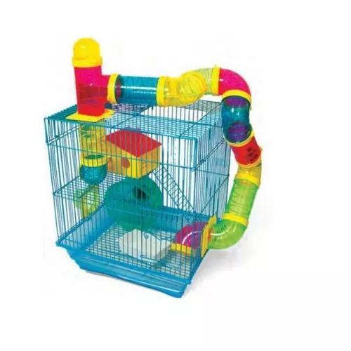 Gaiola Para Hamster 2 Andares Pet Castle H328
