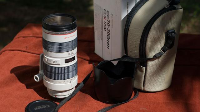 Zoom Canon  F2.8 L Usm. Semi Nova