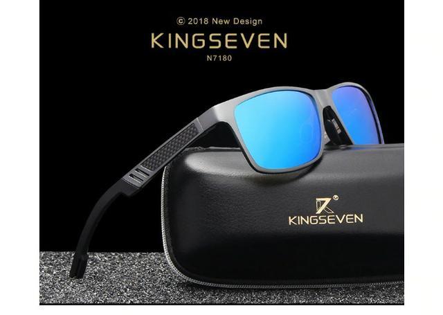 Promoção,Oculos de Sol Kingseven,lentes