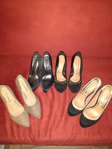 Lote de sapatos Vizzano e Via Marte