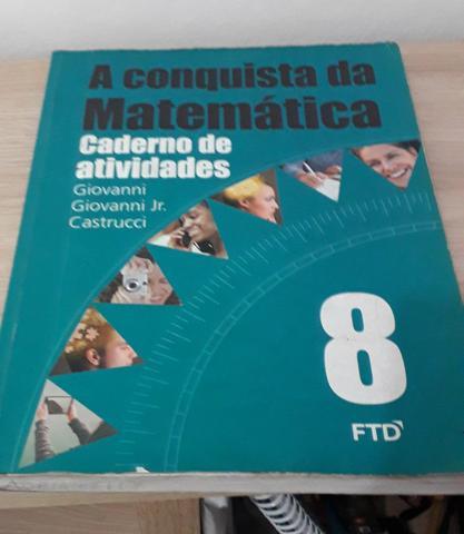 Caderno de Atividade de Matemática 8° ano: A Conquista da