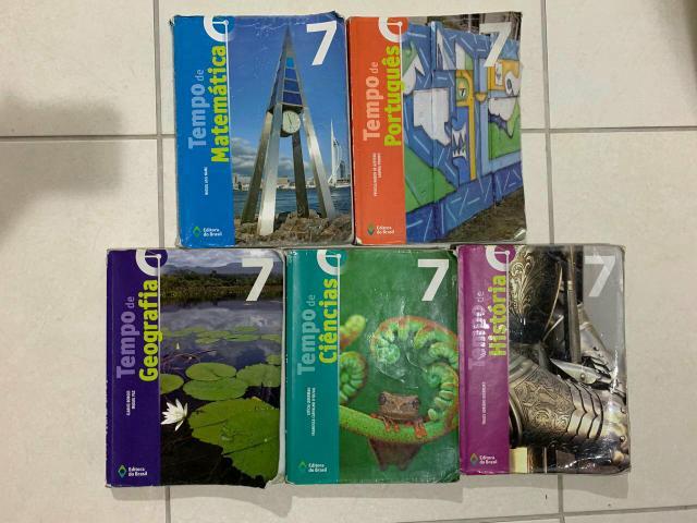 Coleção de livros 7ano, editora Brasil
