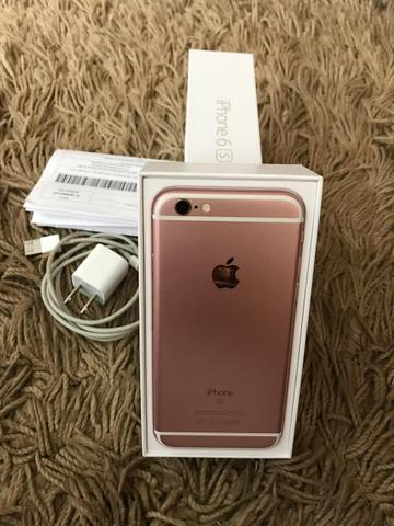 IPhone 6s 16gb rose semi novo