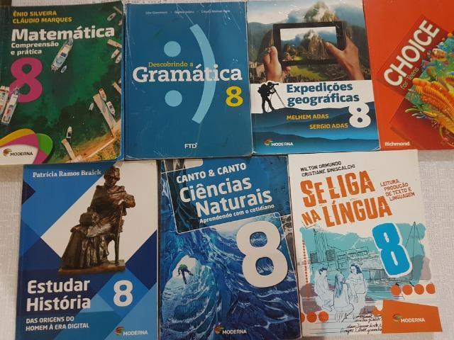 Kit 7 livros 8º Ano -Ciências,