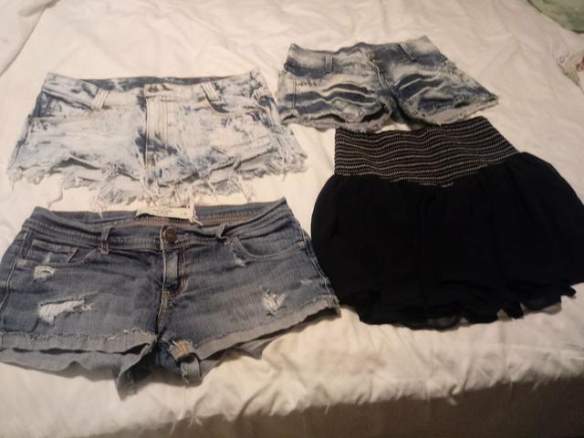 Kit de roupas femininos