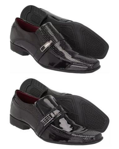 Kit especial com 2 pares de sapatos social(apenas )